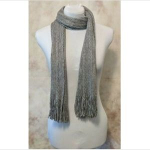 ♥️5 For $25♥️ Cable Knit Rectangle Scarf Tassels